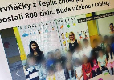 Blesk.cz: Prvňáčky z Teplic chtěli plynovat, lidé dětem poslali 800 tisíc. Bude učebna i tablety