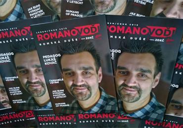 První letošní číslo Romano voďi: Pedagog Lukáš Kováč, reportáž z Větřní nebo Lety u Písku - jak bude vypadat památník?