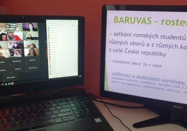 Online setkání romských vysokoškoláků BARUVAS: Znalost vlastní historie je nezbytnost, kritické myšlení a mediální gramotnost jsou dnes klíčové dovednosti