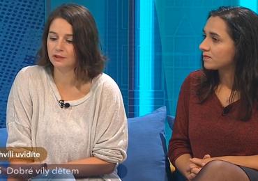 Česká televize: Jitka Votavová a Renata Berkyová o organizaci ROMEA a romštině